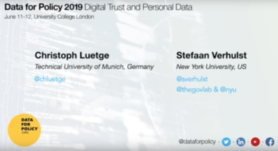 Data Policy 2019 - interview