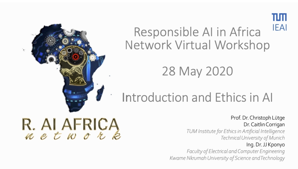 RAIN-Africa 28 May 2020 Workshop - Ethics and AI